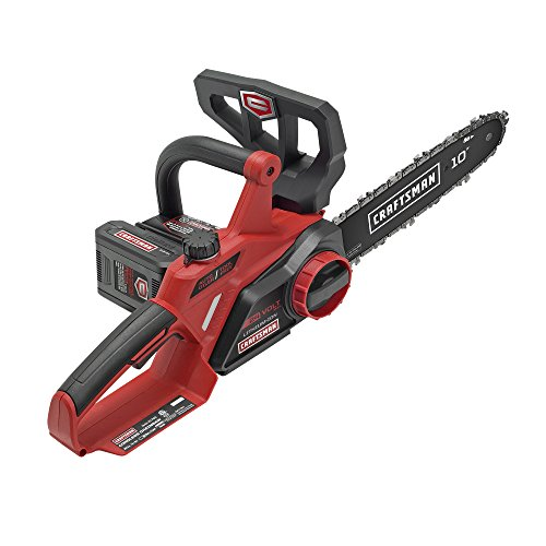 Craftsman 24V Max Li-Ion 10″ Cordless Chainsaw