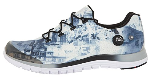 Reebok Damen Sneakers Zpump Fusion Urban Grey-White-Black V66705