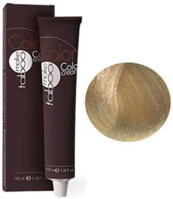 TABOO Color Cream - Tinte permanente para cabello 10/31 rubio ...