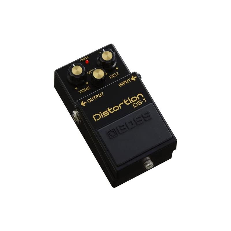 BOSS DS-1 Distortion Guitar Pedal, Black