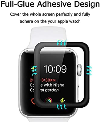Ridpix [3 Piezas Protector de Pantalla para Apple Watch 42mm ...