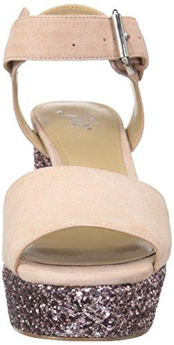 The con Fix Sola para una Sandalia Mujer Petal Blush Hebilla Plataforma de Farah rFrXwqZ