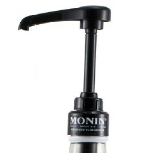 Monin Syrup Pump For 750mL Glass Bottles - Black
