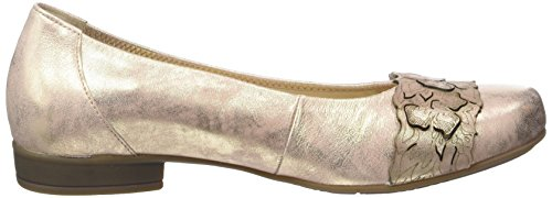Gabor Shoes Comfort, Bailarinas para Mujer Beige (rame 68)