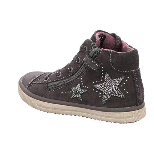 Lurchi Mädchen Smink Hohe Sneaker Charcoal