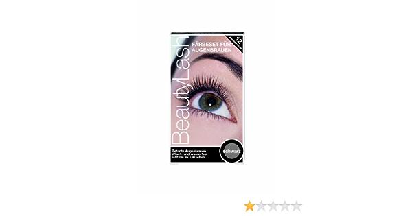 Beauty Lash tinte para pestañas, color negro, 1 paquete con 1 ...