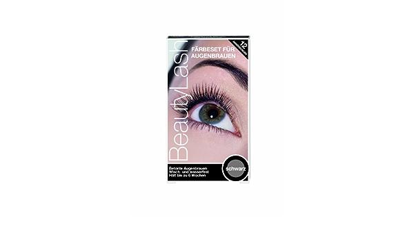 Beauty Lash tinte para pestañas, color negro, 1 paquete con 1 artículo