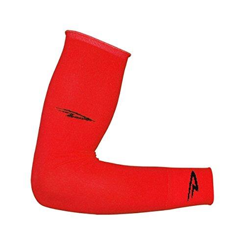 Defeet Armskins Arm Warmers - DeFeet Armskin Socks, Red, Small/Medium