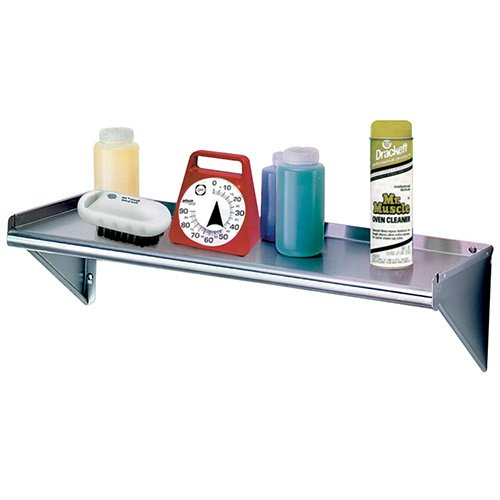 Advance Tabco WS-KD-24-X Heavy Duty Stainless Steel Wall Shelving - 24