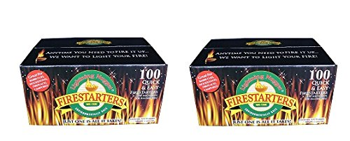 Great Deal! Lightning Nuggets N100SEB Firestarters Super Economy Box of Fire-Starting Nuggets, 100 C...