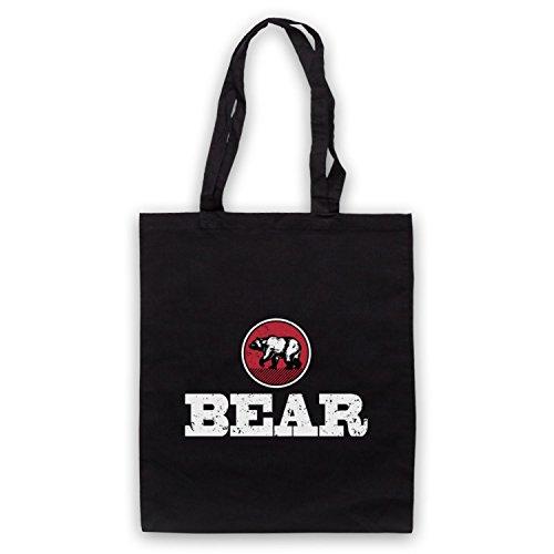 Bolso Icon Bear amp; Negro My Clothing Art Gay Humour dUwqI0S0xC