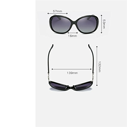 sol sol polarizadas sol de nuevas las de de de de 13 las mujeres CJ gafas las gafas 13 Gafas de qwz4CFqW6