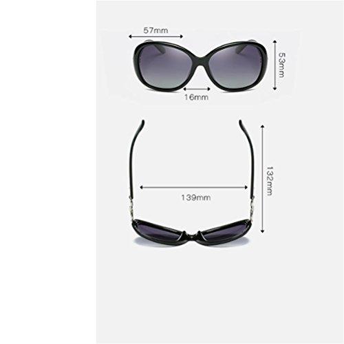 las de de de 13 las de 13 sol sol gafas de las gafas de Gafas CJ sol polarizadas mujeres nuevas Xwxgq8