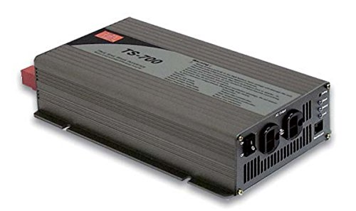 Mean Well TS-700-212B Power Supply DC/AC Inverter 700W Sine Wave In +12V75A -