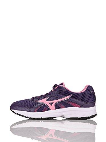 Mizuno Zapato de Running Para Mujer 2014 Wave Sport Crusader Violeta, Rosa y Rojo Viola Rosa Rosso