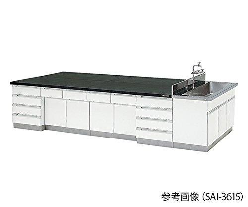 アズワン3-7770-01中央実験台木製タイプSAI-2415(2400×1500×800mm) B07BD2YRNQ