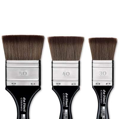 da Vinci Watercolor 5599-12 Casaneo Watercolor Brush Black by da Vinci Watercolor