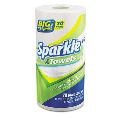 (Georgia Pacific Professional 2717201 Sparkle ps Perforated Paper Towels, 2-Ply, 11x8 4/5, White,70 Sheets (Case of 30 Rolls))