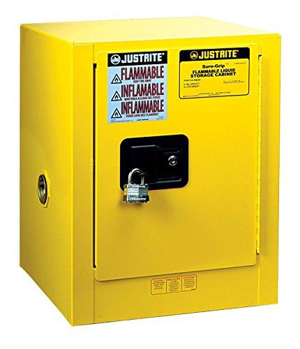 Justrite 890400 Sure-Grip EX 4 Gallon, 22