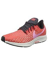 Nike Women's Air Zoom Pegasus 35 Running Shoe, Ember Glow/Psychic Pink-Oil Grey