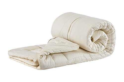 - Sleep & Beyond Topper Washable Wool Mattress Topper King (76x80x1.5 in thick)