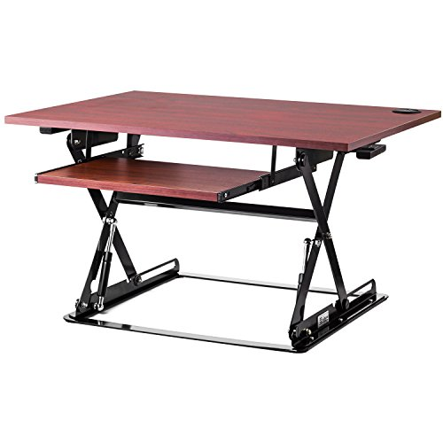 Halter Adjustable Desk Sit / Stand Elevating Desktop ONLY $93.59 **BEST PRICE EVER**