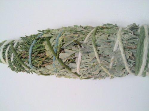 Sage Sweet (Sage / Sweetgrass Smudge Wand 7)