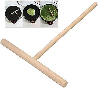 Shape Kit Maker Kitchen Stick Wooden Batter 2x Tool DIY Spreader Crepe T Pancake