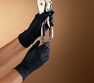 High Five Guantes de Examen N642200 Onyx nitrilo Medium 200 Conde