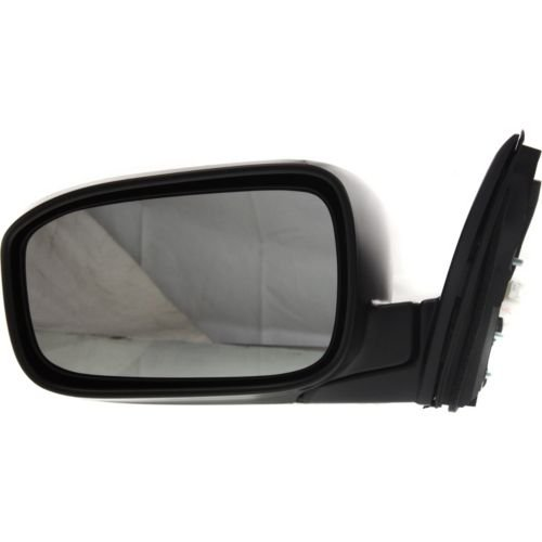 Mirrors Accord Power Honda (Make Auto Parts Manufacturing Left/Driver Side MIRROR Power Operated Non-Heated Manual Folding Paint to Match Sedan Japan/USA Built For Honda Accord 2003-2007 - HO1320152)