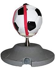 achievr Allenatore di Calcio Solo, Allenatore di Calcio Solo Soccer Speed Ball Trainer con Base di Sabbia Grande Riempitore di Acqua da Allenamento per Lo Speedball