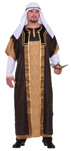 [Forum Novelties Men's Designer Collection Deluxe Sultan Costume, Multi, Small] (Arabian Costumes For Men)