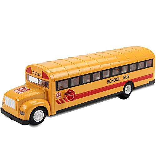 XuBa Simulation Radio Remote Control School Bus 2.4G Radio RC Car Toys for Children Model Electric RC Car Toy for Kids (Bus Remote Control)