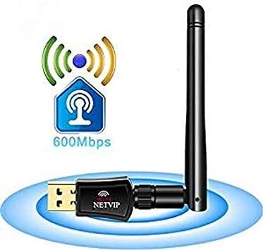 1200Mbps Adaptador Antena WiFi USB 3.0 Dual Band Receptor ...