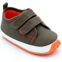 Kuner Baby Boys Girls Cotton Rubber Sole Outdoor Sneaker First Walkers Shoes