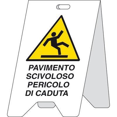 Segnaletica: pavimento bagnato Pubblicentro 05470010: Amazon.it ...