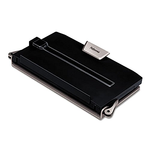 TableTop King 8039401 Professional Series 12'' x 2 1/2'' x 11 1/2'' Black 250 Sheet Plastic Desktop Copyholder
