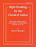 """Sight Reading for the Classical Guitar, Level I-III"""""""