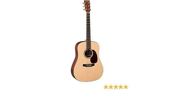Martin dxmae Black Guitarra acústica con pastilla/EQ, Negro Mate ...