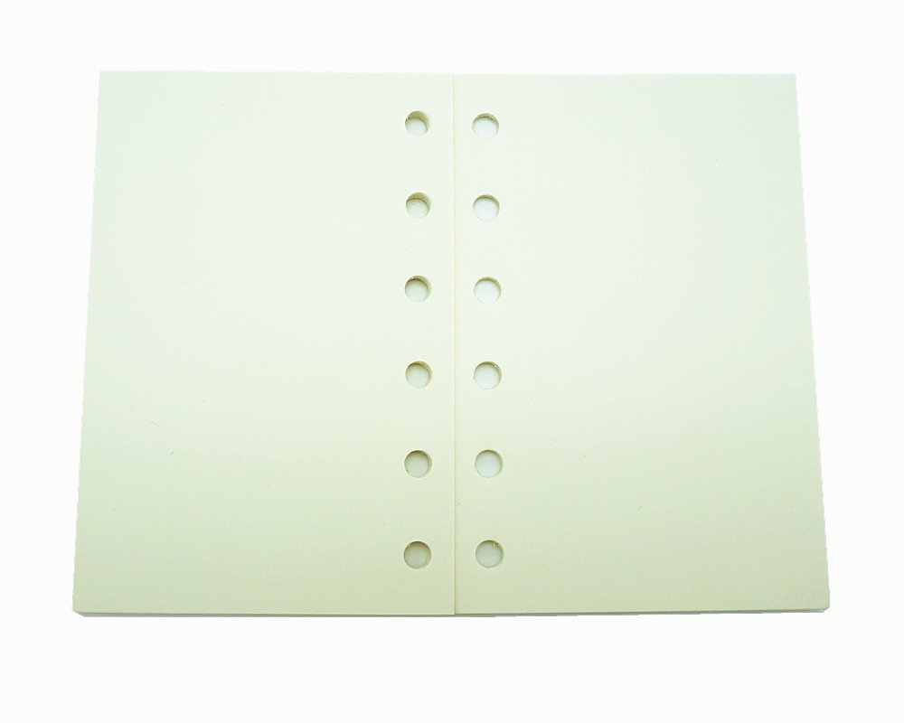 Planner Refill, A7 Notebook Refill, Dot, Grid, Line, Blank Paper,4.84 x 3.23'', 80 sheets/160 Pages, Harphia 4.84 x 3.23''