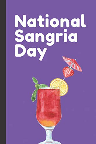National Sangria Day: Fruit and Wine Drinks   Lemon Wedge   Lime   Red Wine   Orange Juice   Iced Punch   Gift For Sangria Lovers   Enjoy Every Sip