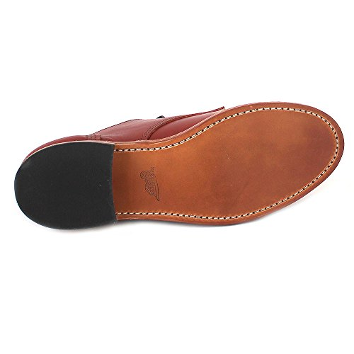 Atanado À Wing Braun colorado Et Classique Coupe Shoes Femme Red Lacets Chaussures CpqwZP