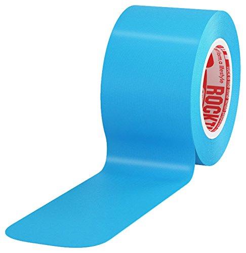 Rocktape 2'' H2O Pre Cut Roll of Tape, Blue, Universal by Rocktape