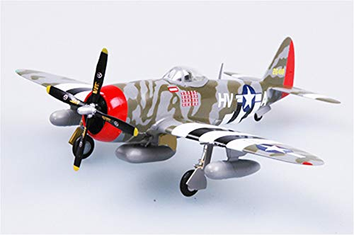 P-47d Fighter Thunderbolt (Easy Model WWII US P-47D Thunderbolt 61FS 56FG 1/72 non diecast plane)