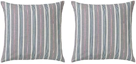 Strange Amazon Com Ikea Pack Of 2 Daggvide Striped Cushion Or Throw Frankydiablos Diy Chair Ideas Frankydiabloscom