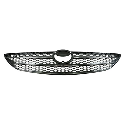 Chrome & Argent Grille Grill for Toyota Camry 02 03 04