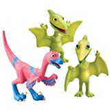 Dinosaur Train - Collectible Dinosaur 3 Pack - Mr. Pteranodon, Don, And Velma