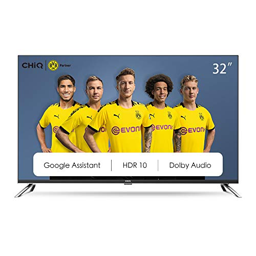 CHiQ L32H7A – 32 inch LED TV – Android Smart TV – Chromecast built-in