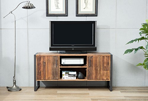 Belmont Home 60 inch Natural Wood TV Stand