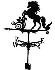 Wind Direction Indicator Craft Retro Garden Decor Gifts Fenteer Farmhouse Weather Vane Roof Mount Australian Shepherd